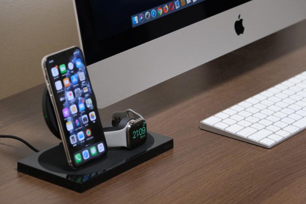 iPhoneとApple Wacthをワイヤレスで充電