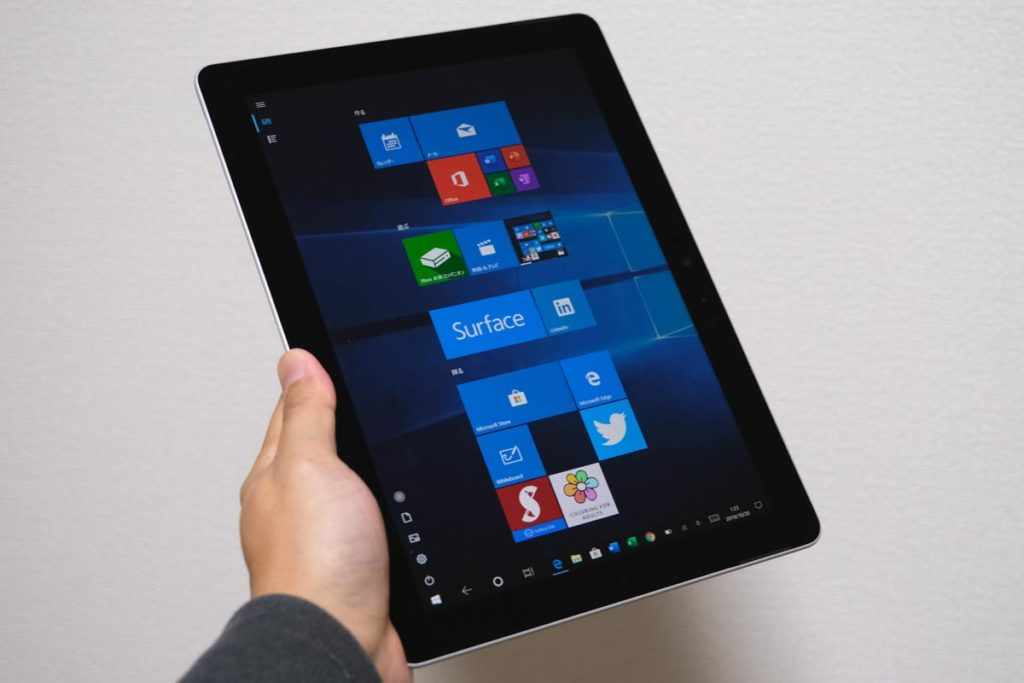 Surface タブレットモード