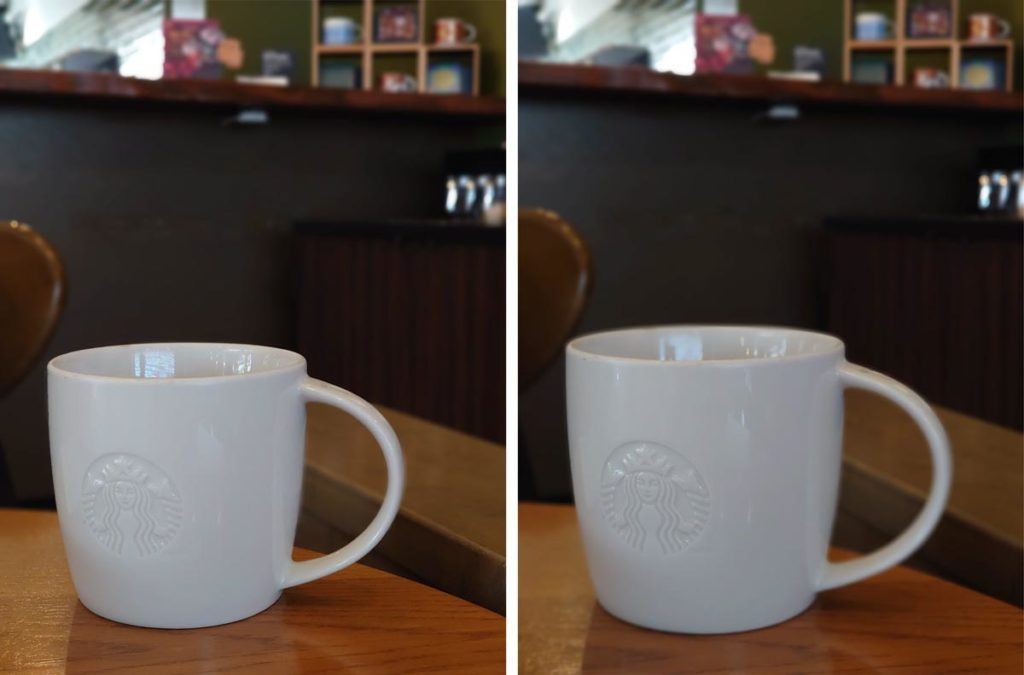 Xperia 5・1 ぼけエフェクト(マグカップ)