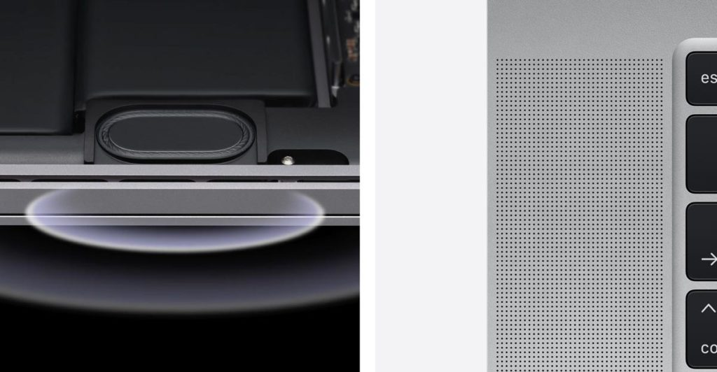 MacBook Pro 16インチ スピーカー