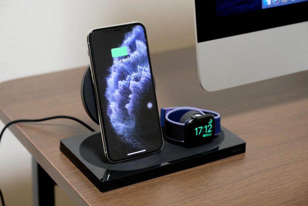 iPhoneとApple Watchを同時充電する