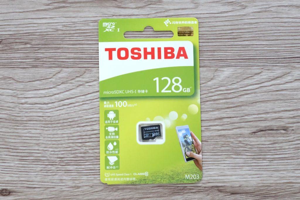 東芝 microSDカード