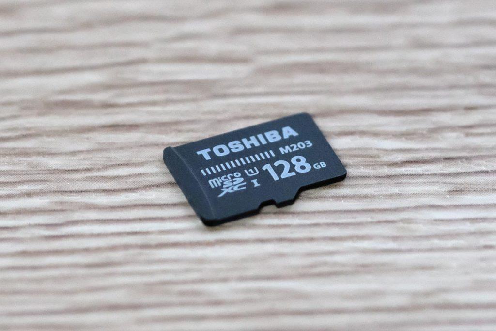 東芝のマイクロSDカード