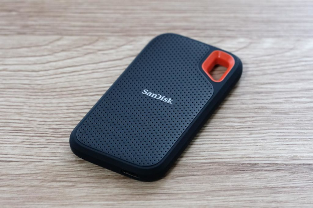 SanDisk Extreme ポータブルSSD