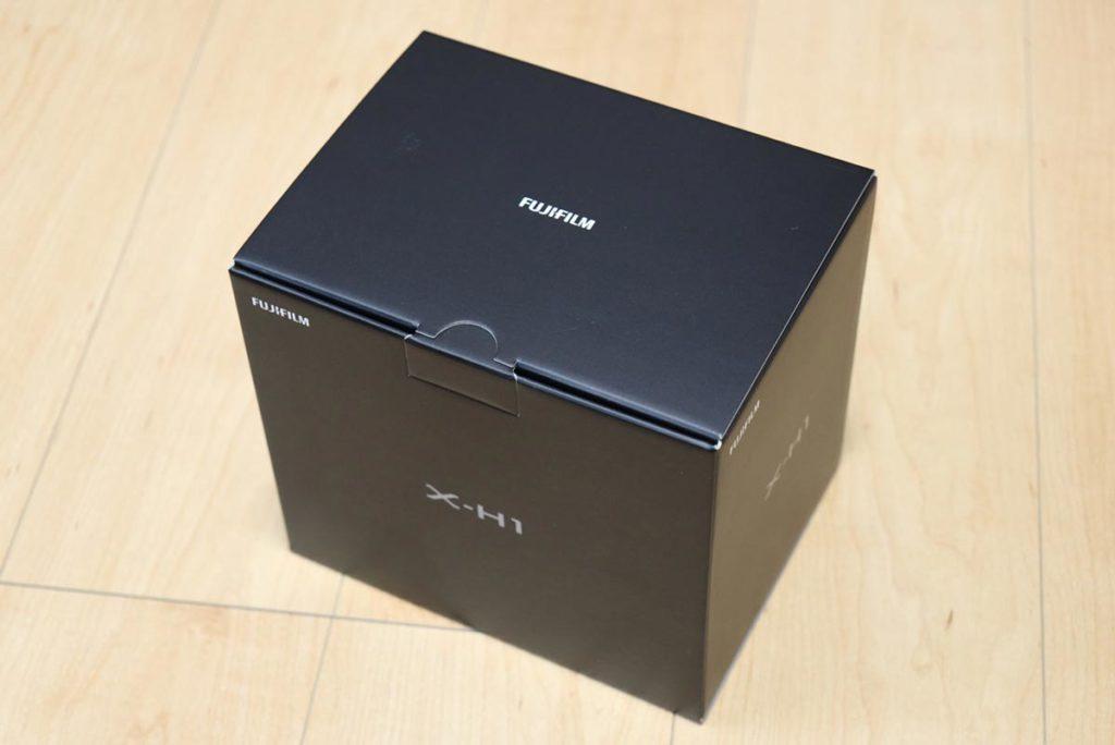 X-H1のパッケージデザイン