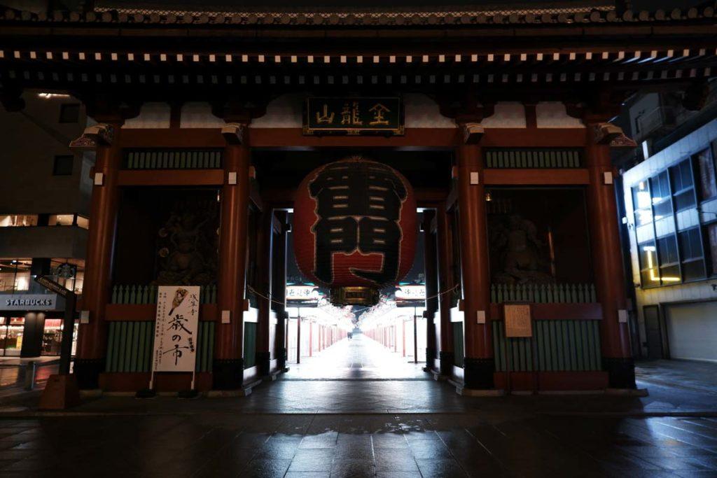 X-A7 + XC15-45mmF3.5-5.6 浅草寺の雷門