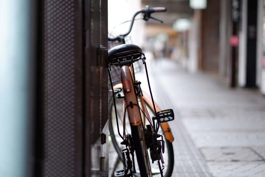 X-A7 + XF56mmF1.2 R 自転車