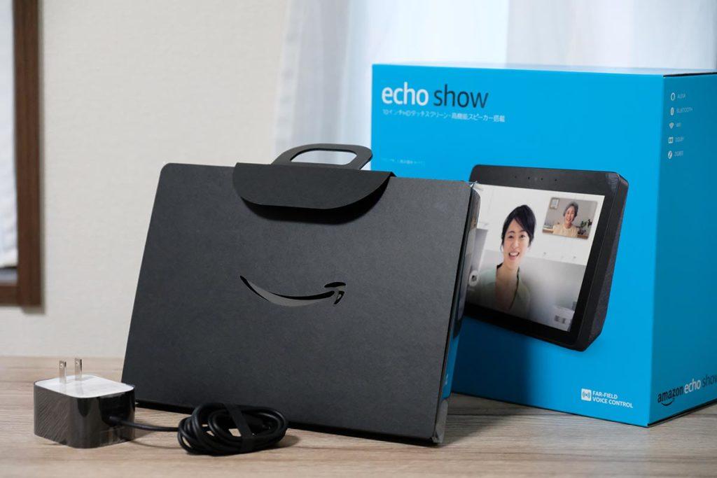 Echo Showのパッケージと中身