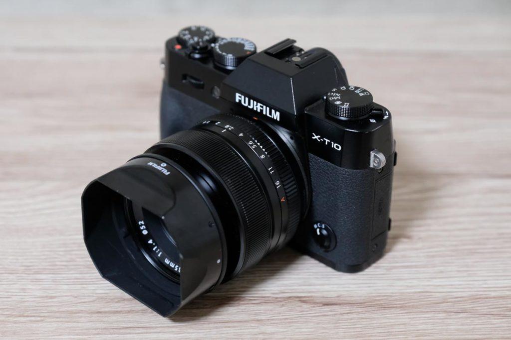 X-T10とXF35mmF1.4