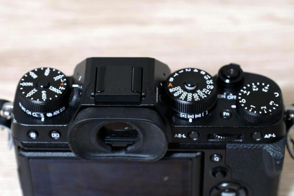 X-T2の操作ダイヤル