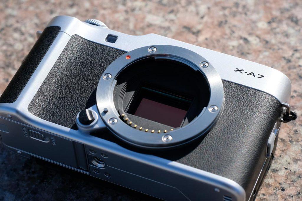 X-A7のイメージセンサー