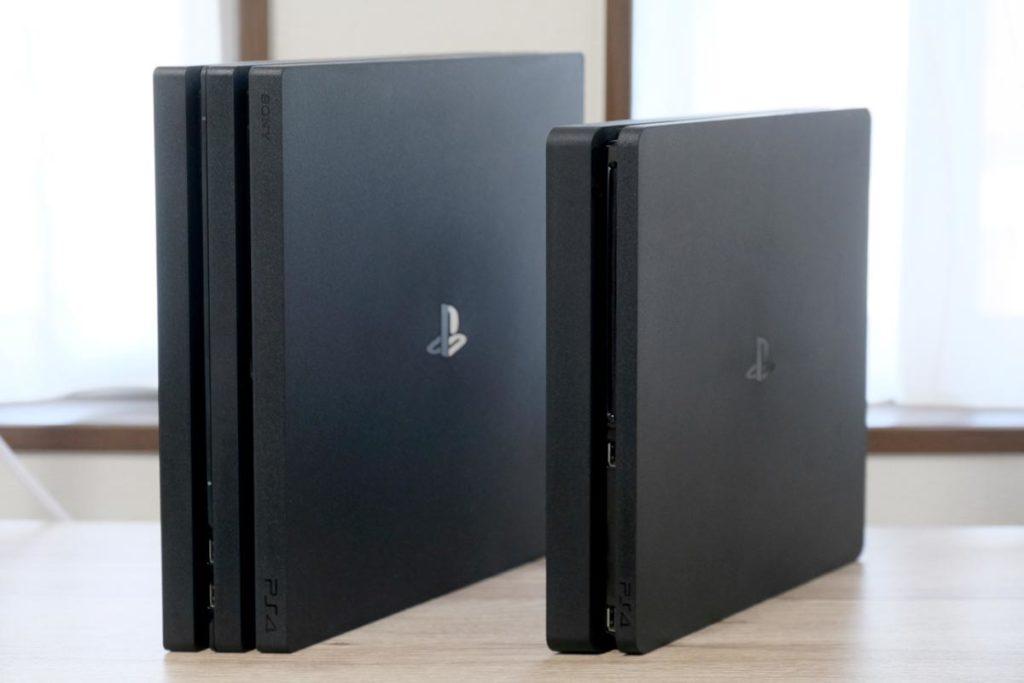 PS4 ProとPS4の違いを比較