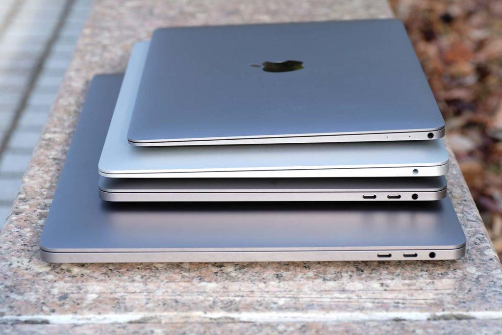 MacBookシリーズの右サイドの外部ポート