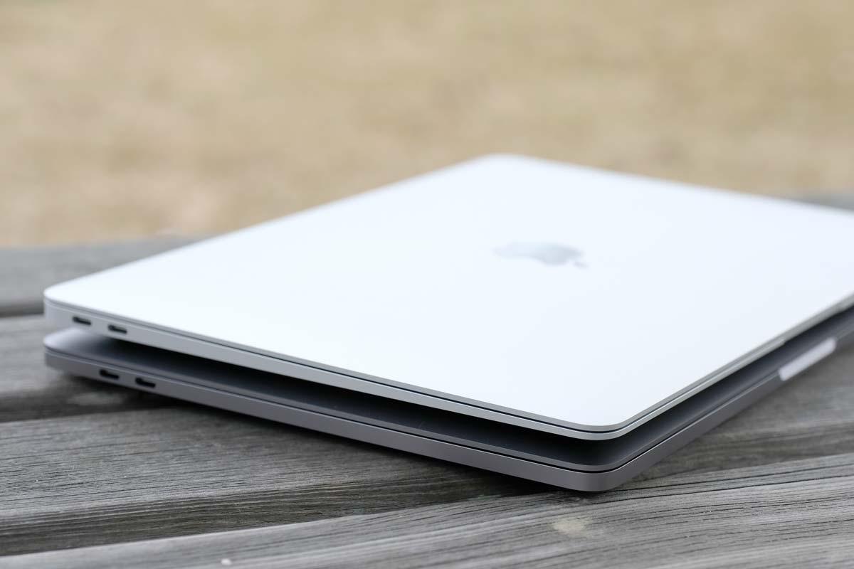 MacBook AirとMacBook Proとデザインの違い