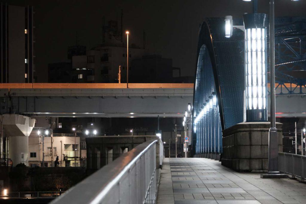 X-T3 + XF16-80mmF4(深夜の橋)