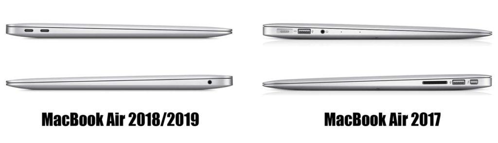 MacBook Airの外部ポートの違い