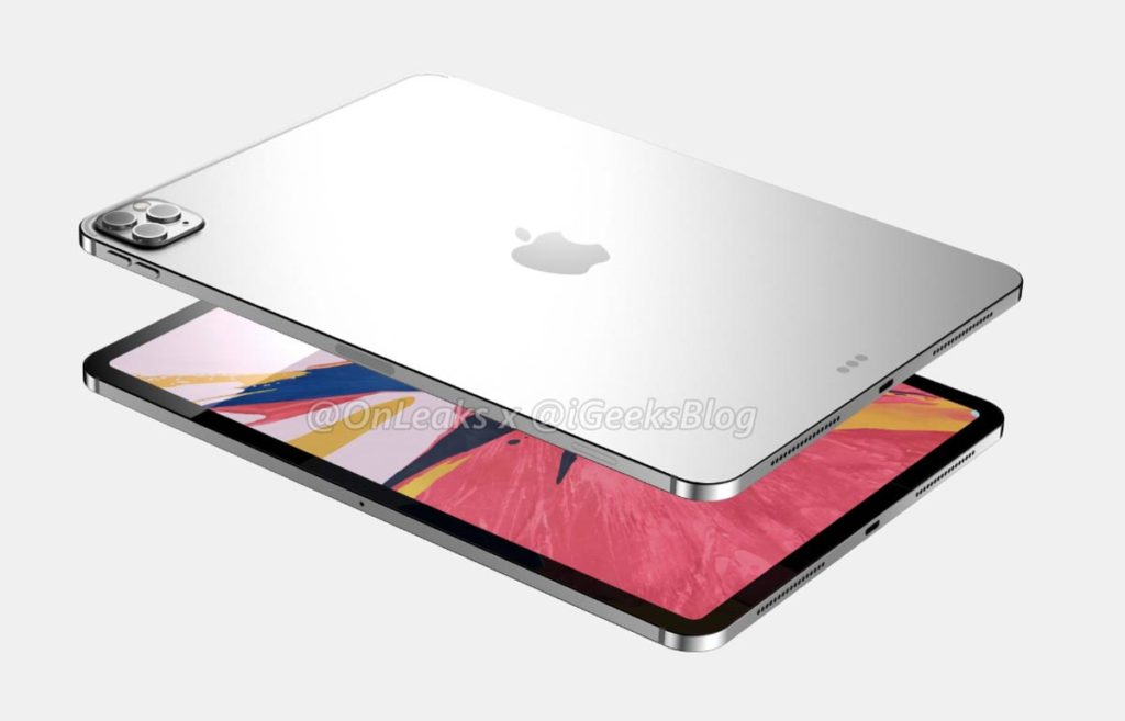 iPad Pro 2020の予想デザイン