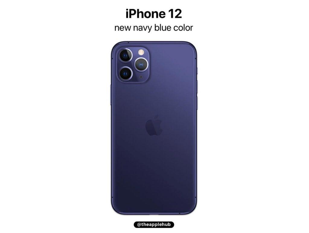 iPhone 12 Pro ネイビーブルー