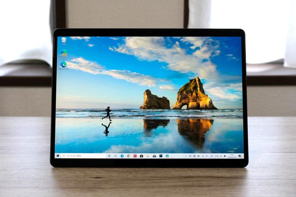 Surface Pro X デスクトップ画面