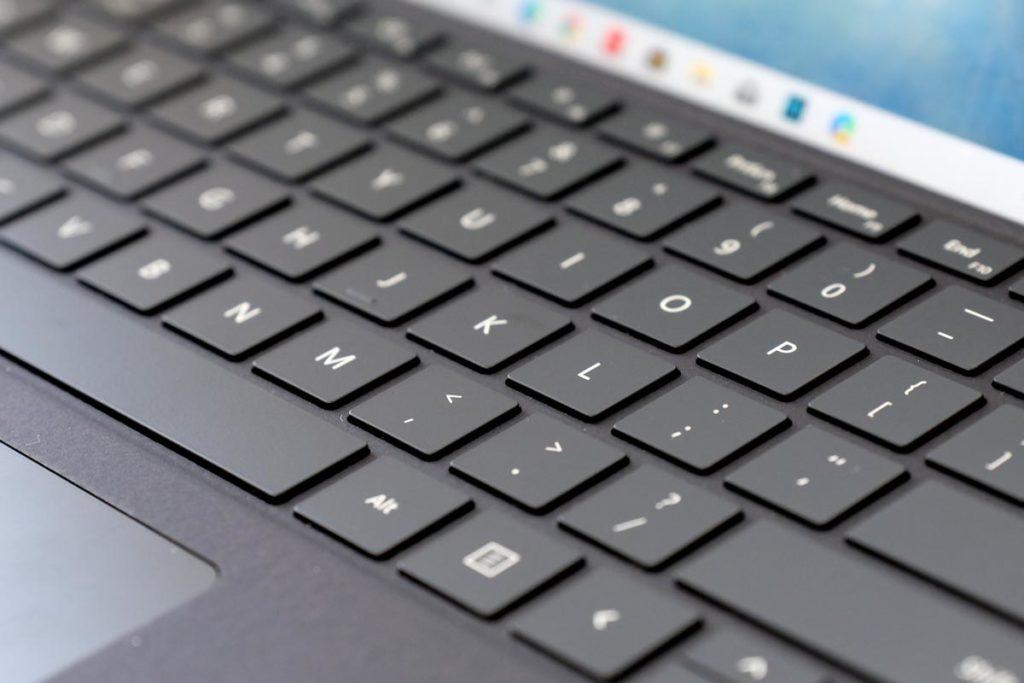 Signatureキーボードのキー