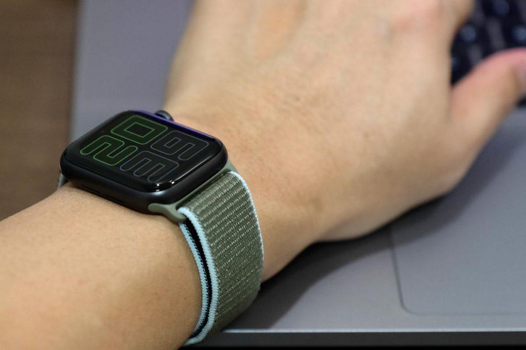 常時画面表示に対応したApple Watch 5