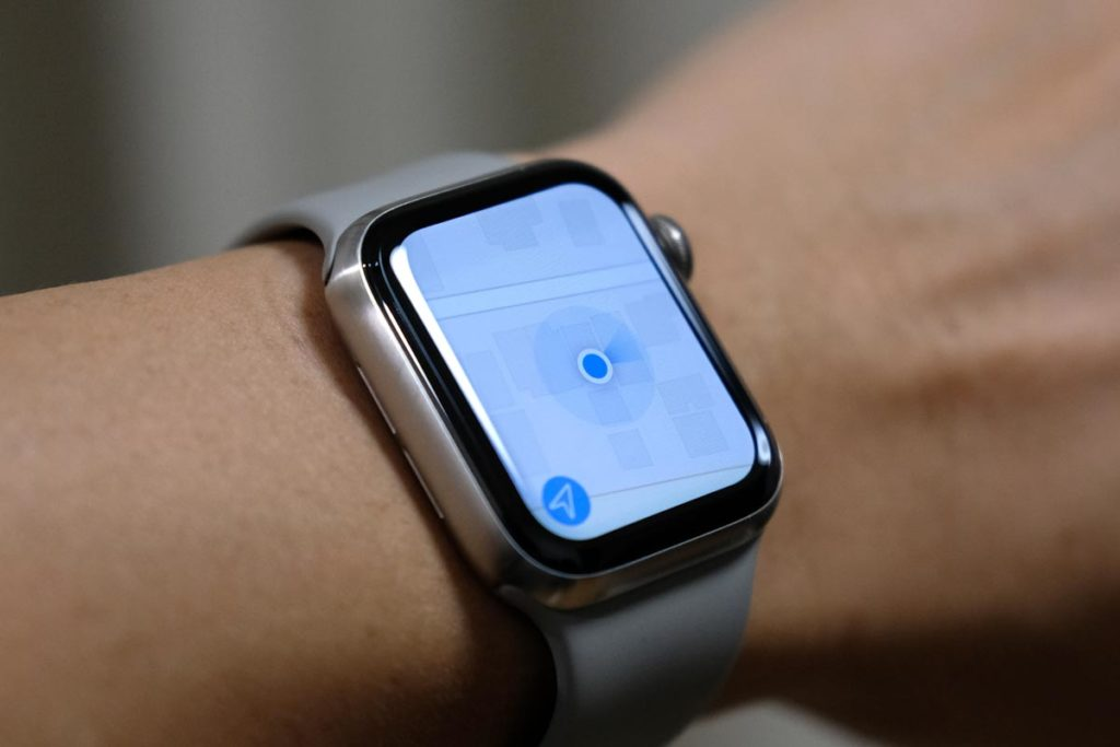 Apple Watchの地図アプリ
