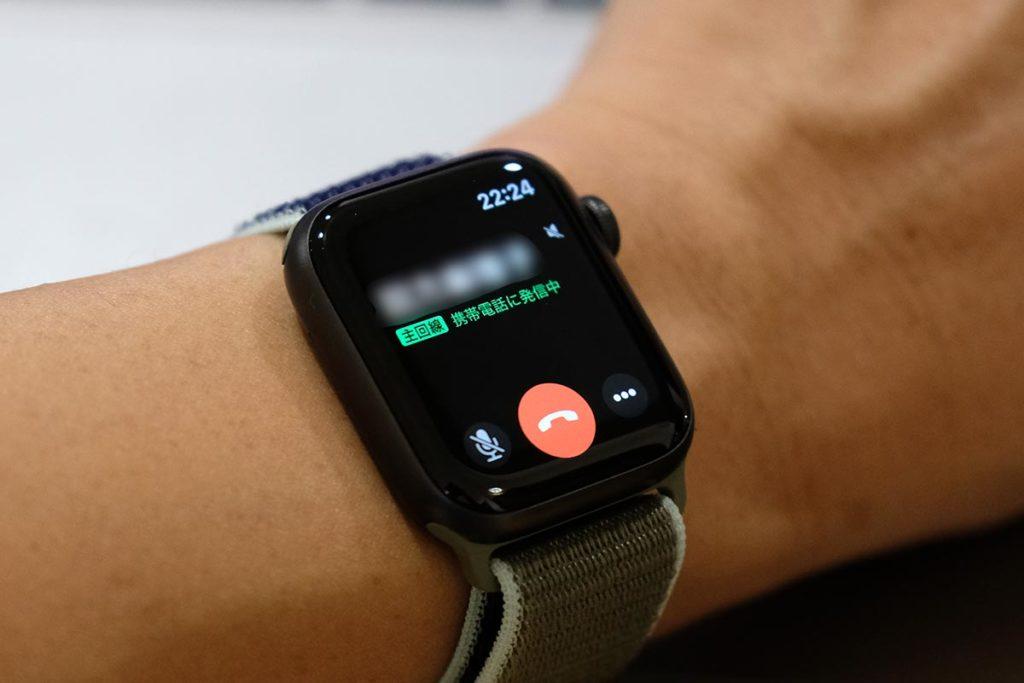 Apple Watch 5の通話機能