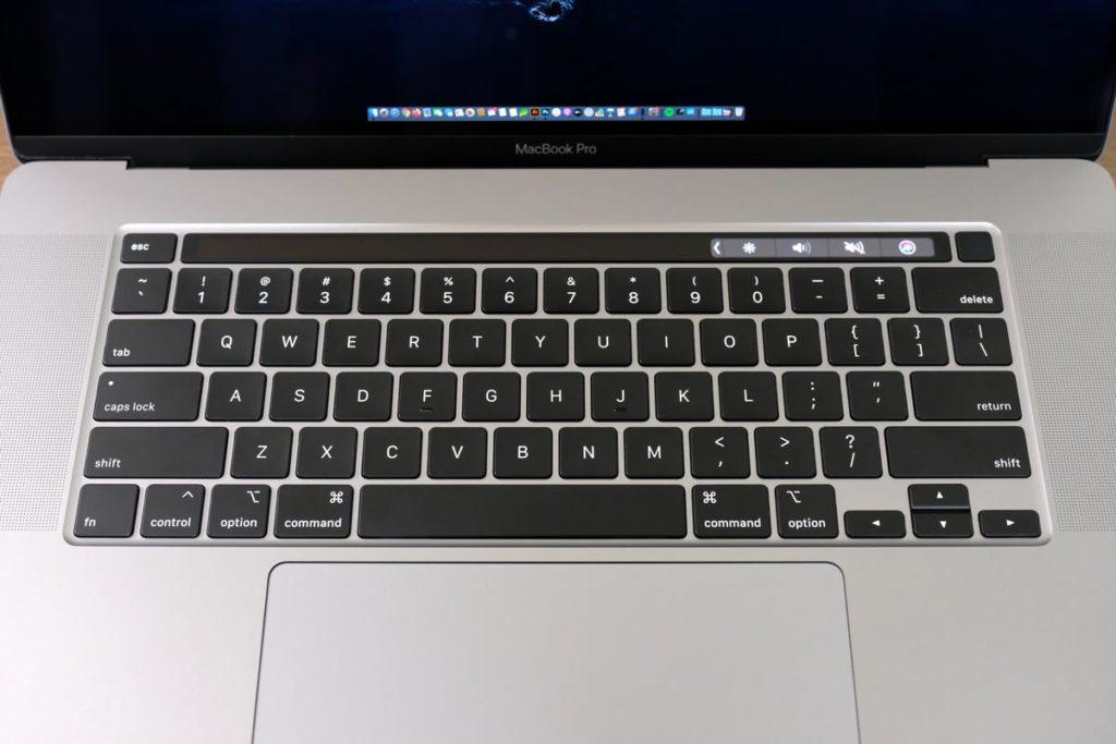 MacのUS配列のキーボード