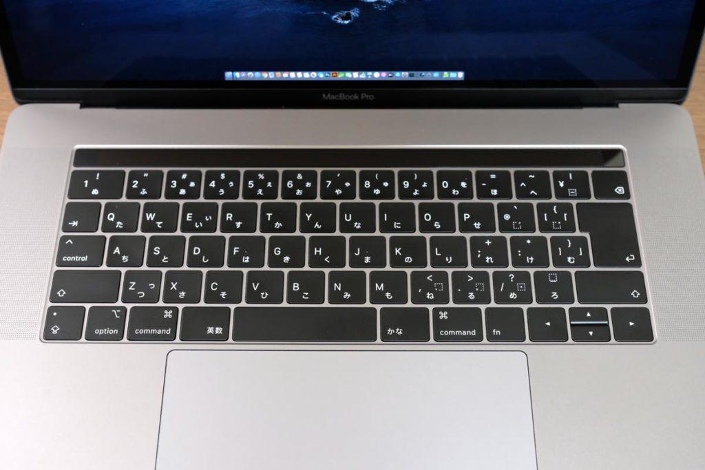 MacのJIS配列のキーボード