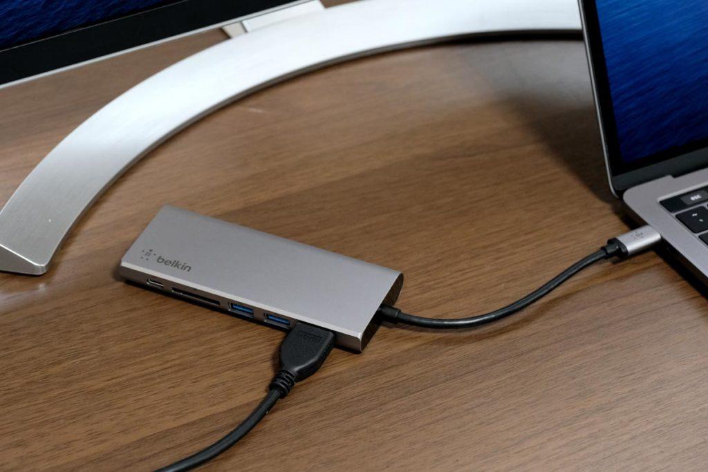 HDMIで画面出力に対応