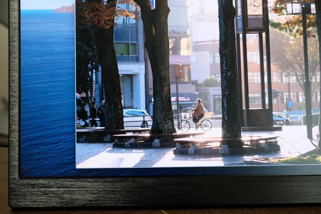 4K・Adobe RGB 100%で画面がキレイ