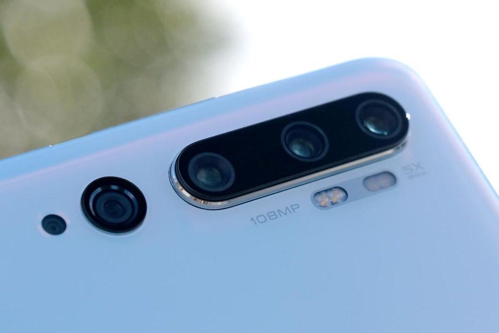 Xiaomi Mi Note 10 リアカメラ