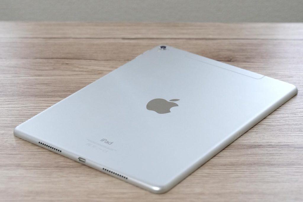 iPadのシルバーカラー