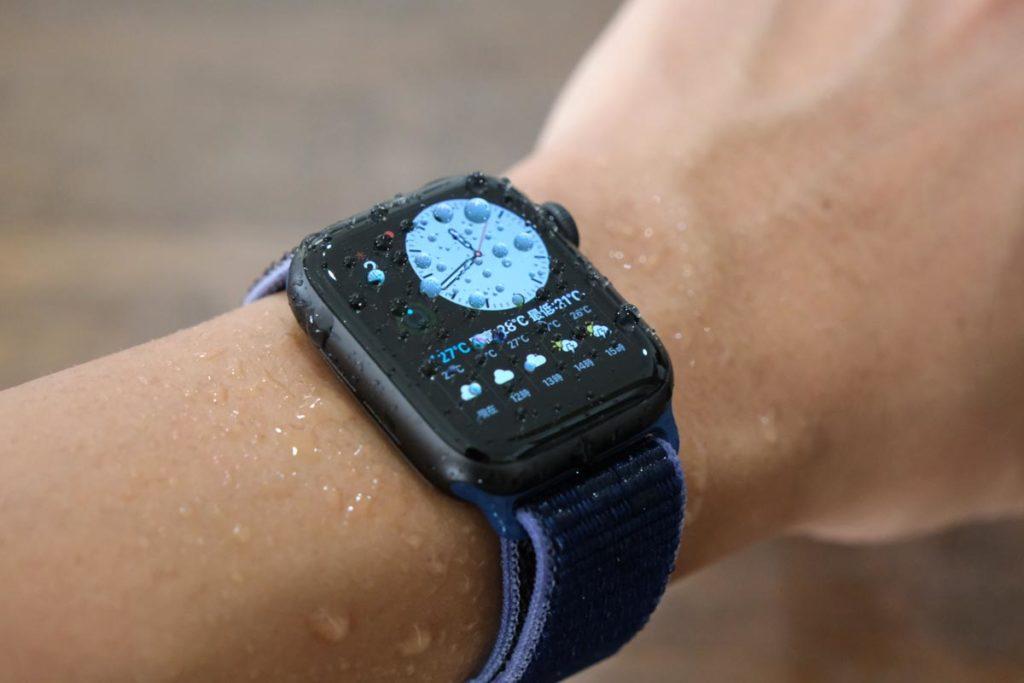 プール、海でもApple Watchを使える