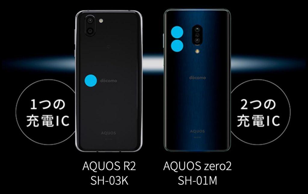AQUOS zero2のパラレル充電