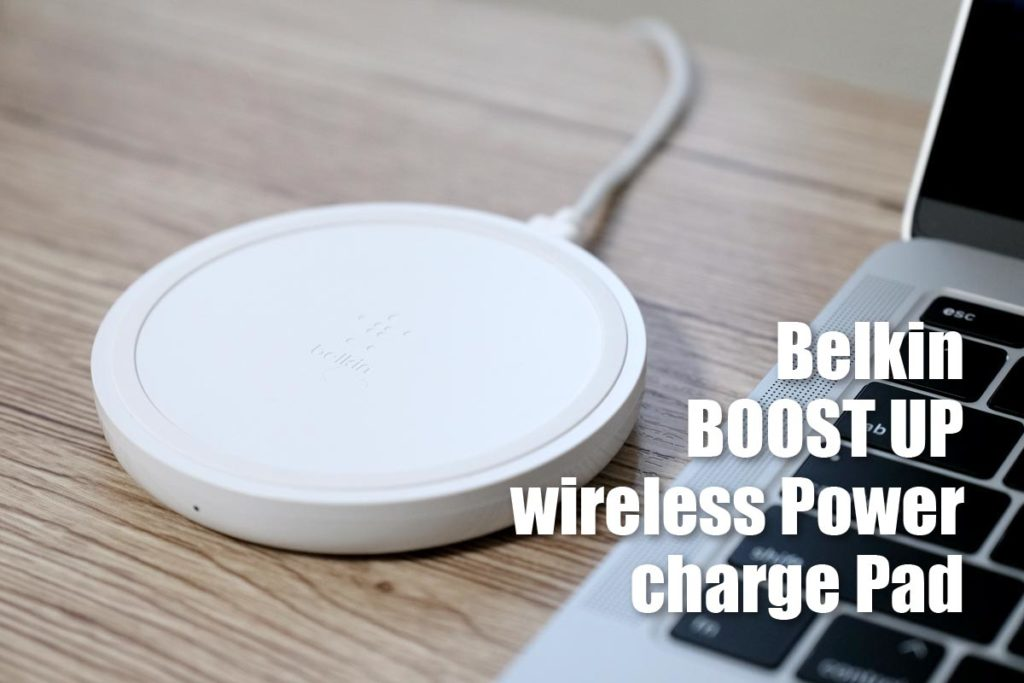 Belkin BOOST UP wirekess power charge Pad