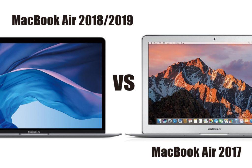 MacBook Air 新旧スペックの比較