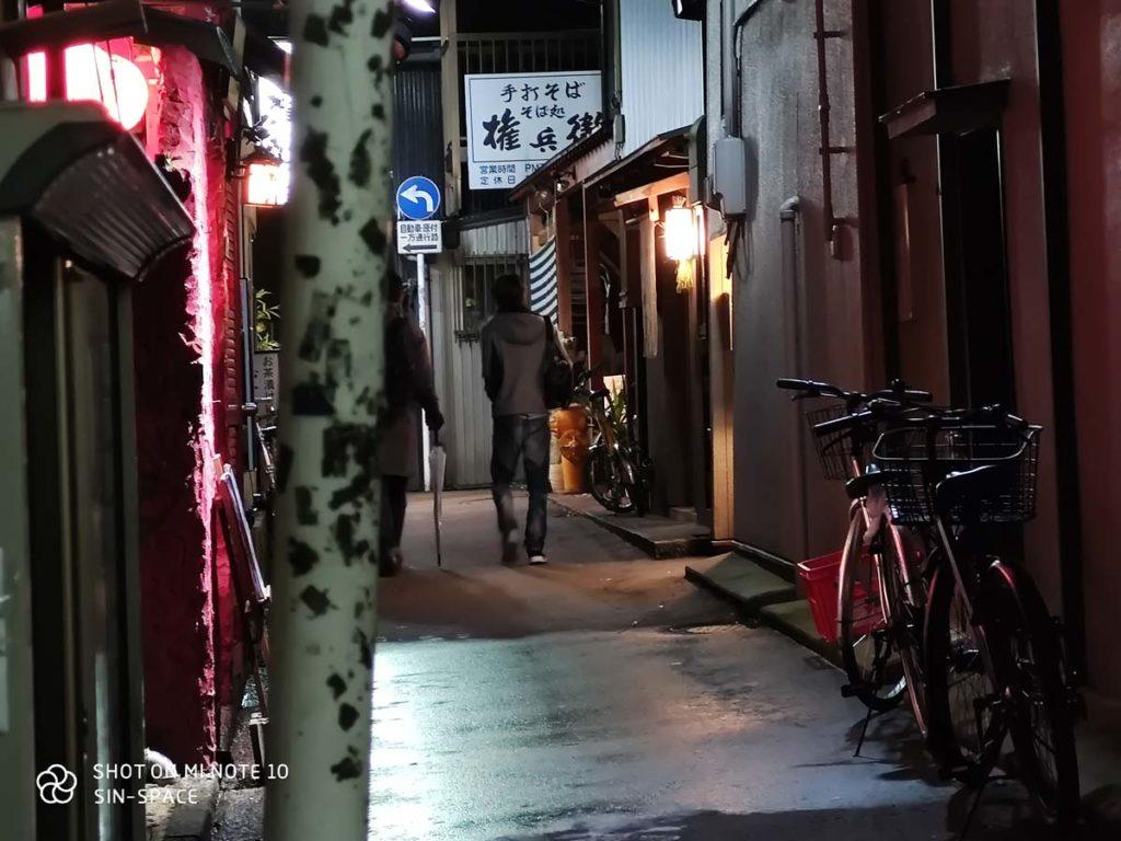 Mi Note 10 望遠カメラ(ハイブリッド5倍ズーム)