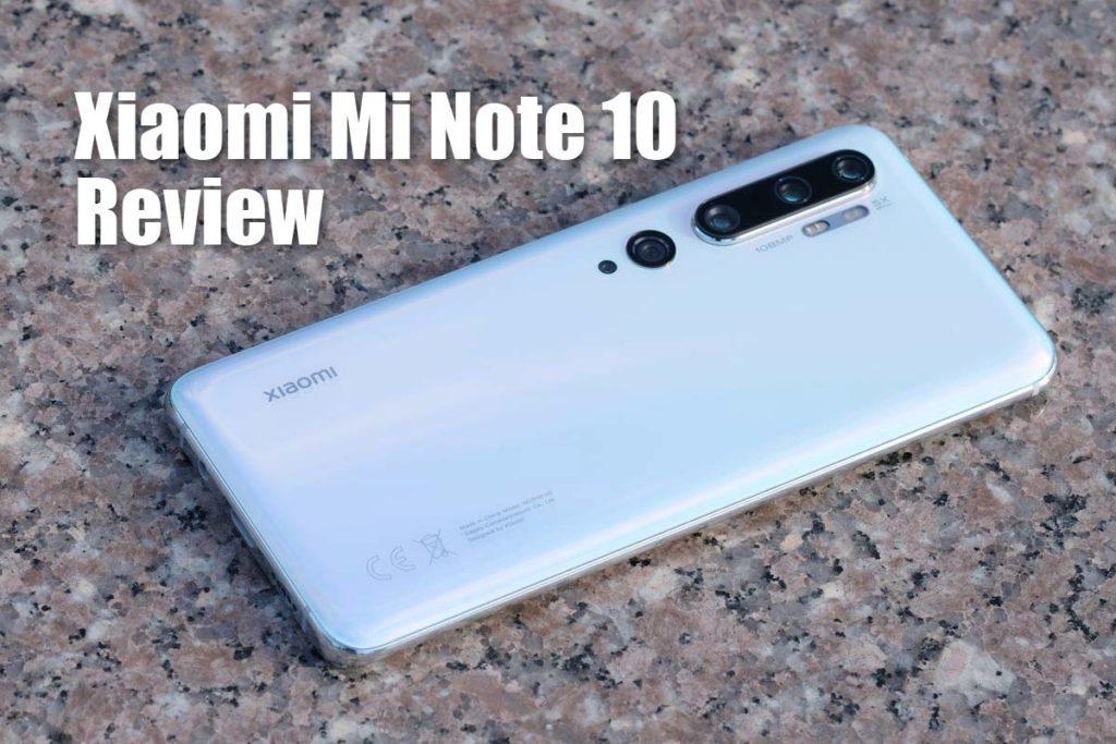Xiaomi Mi Note 10 レビュー