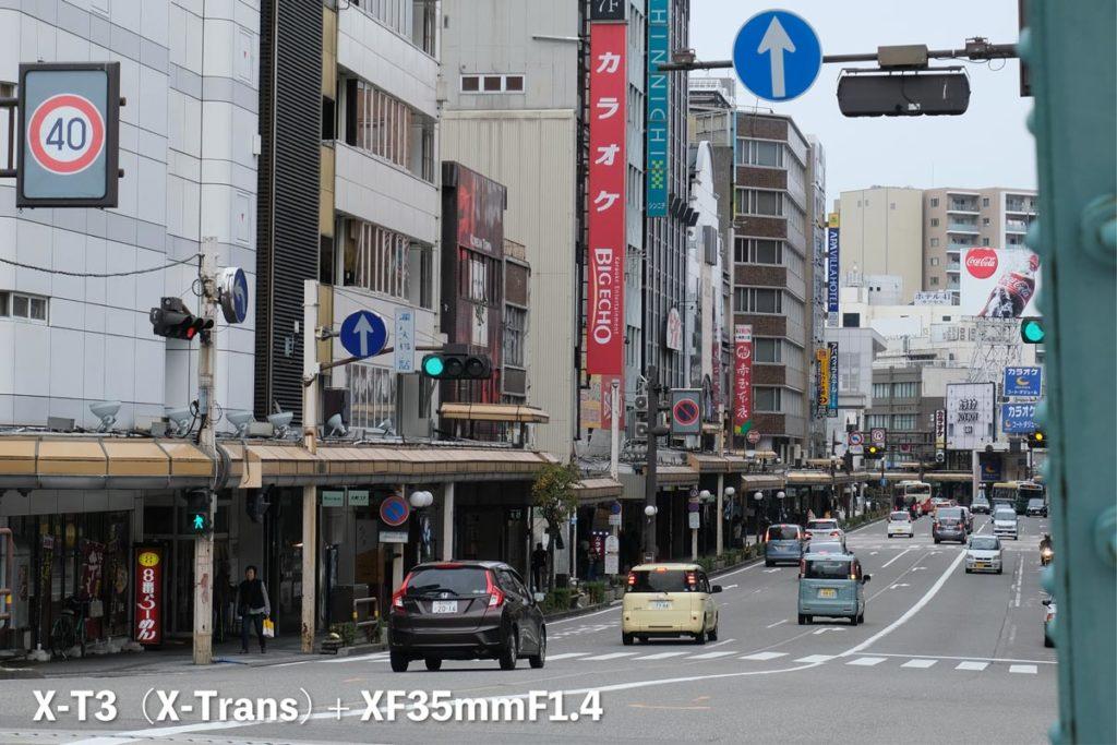 X-T3(X-Trans)街中の風景