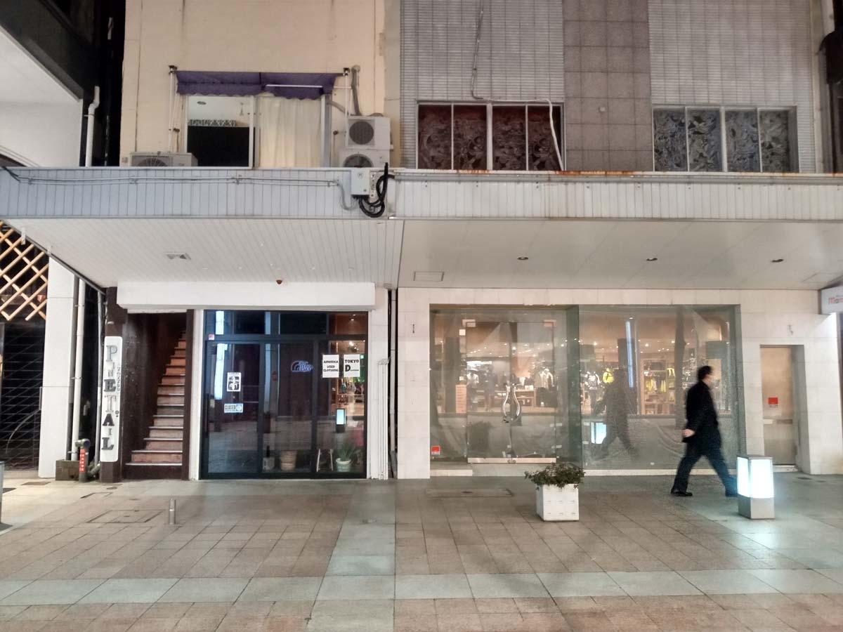 Android One S10の広角カメラで商店街を撮影