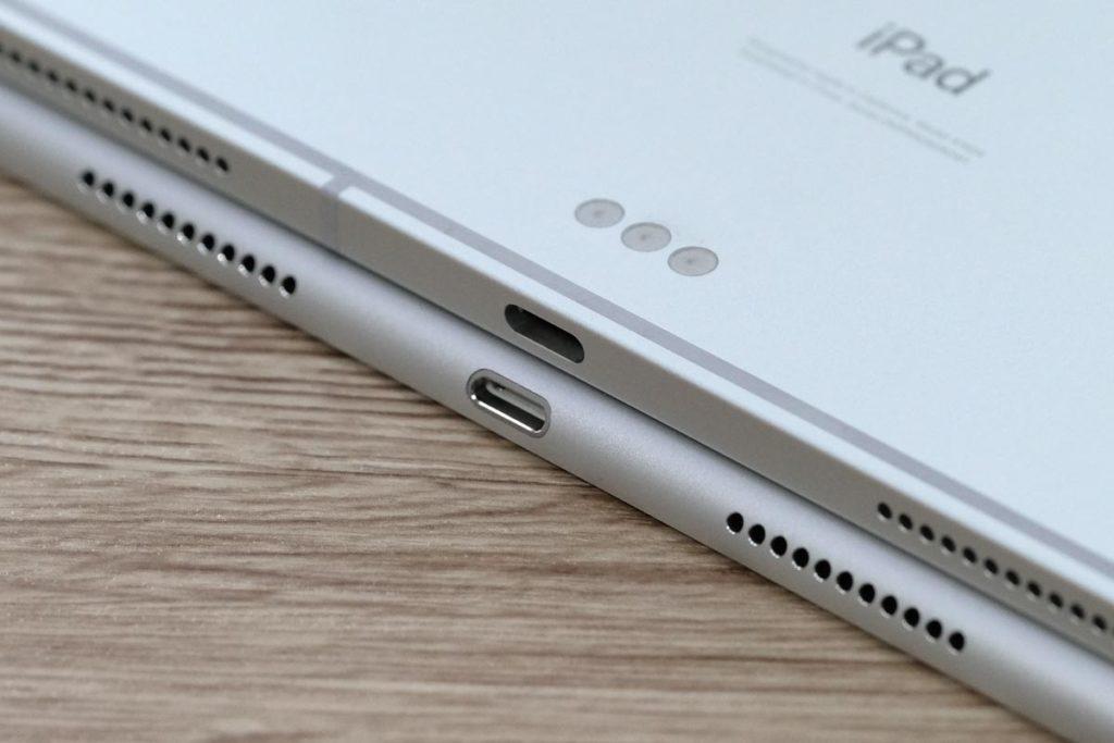 iPad Pro 11インチはUSB-Cポートを採用