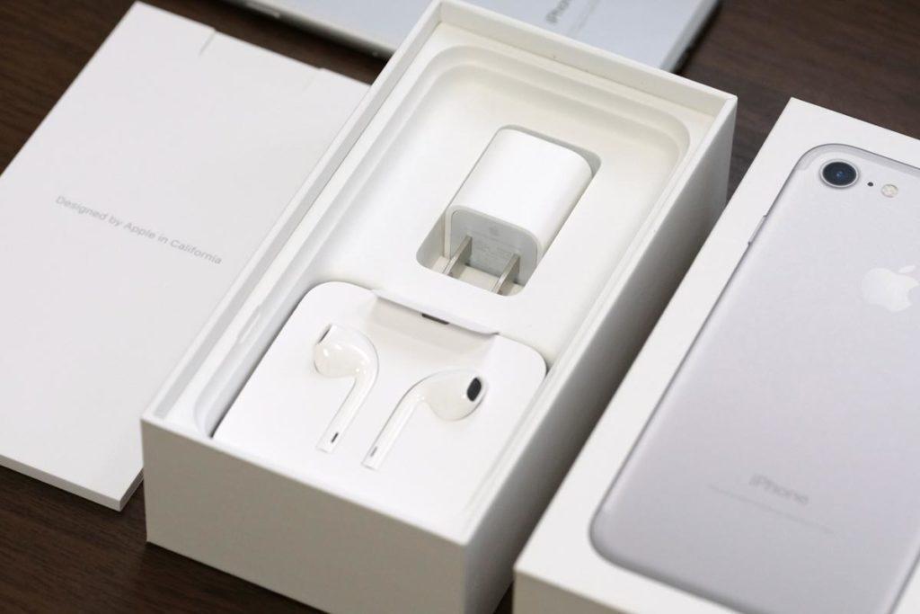 iPhone 7の付属品一式