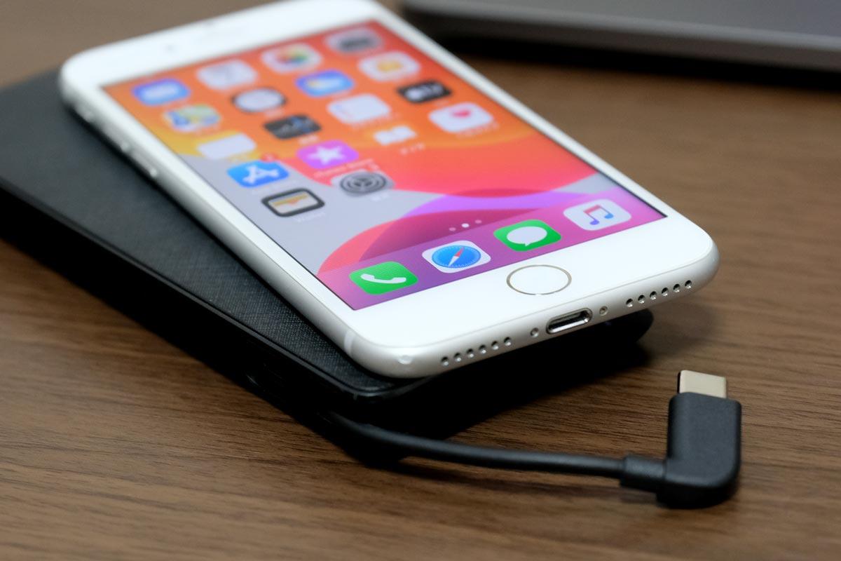 iPhoneの充電はできない