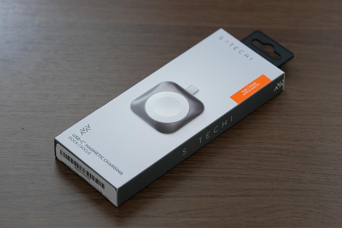 Satechi USB-C Apple Watch 充電ドックのパッケージ