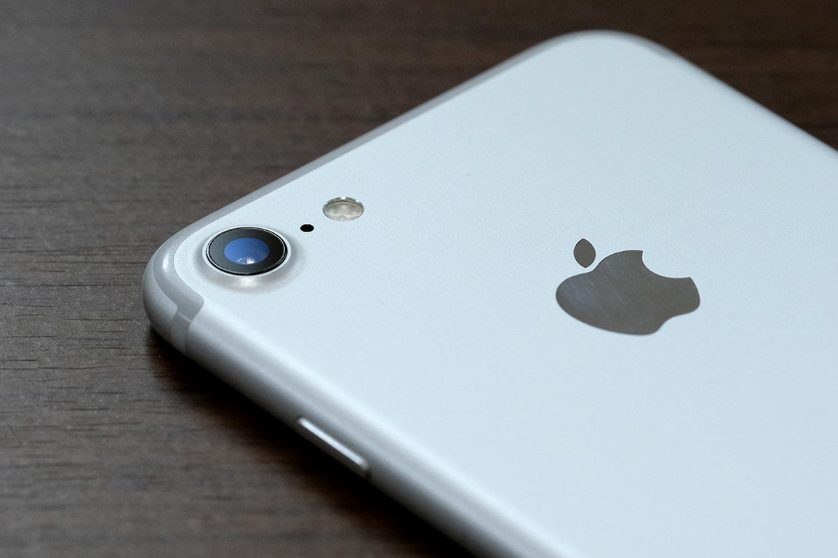 iPhone 7のリアカメラ