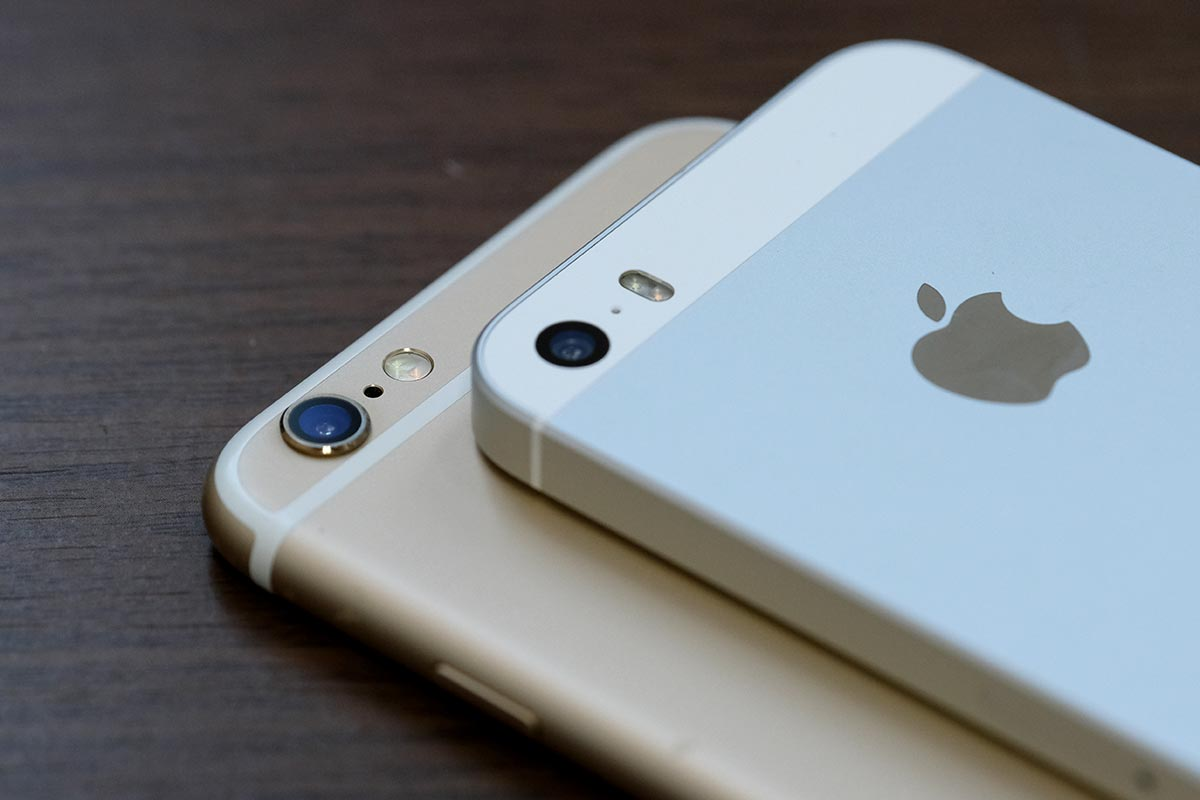 iPhone 6sとiPhone SEのリアカメラ