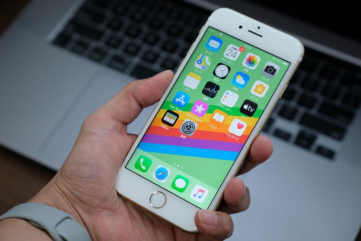 iPhone 6s 画面サイズ