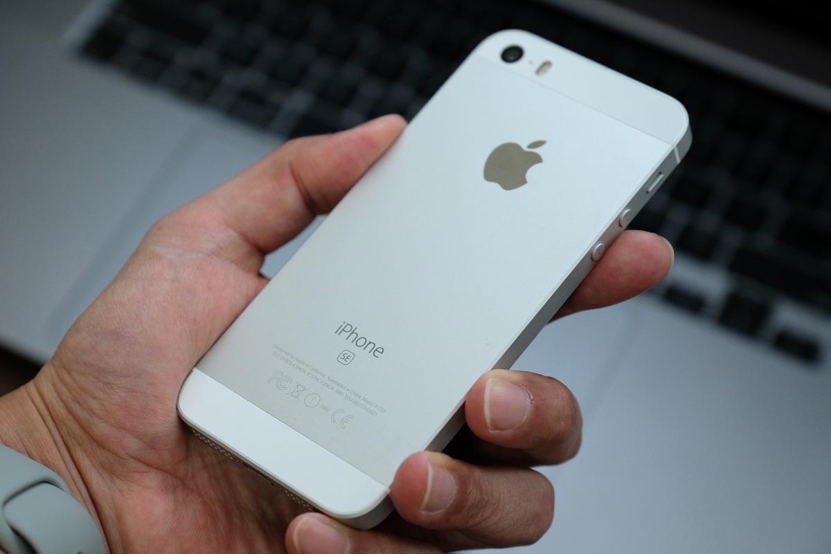 iPhone SEの本体デザイン