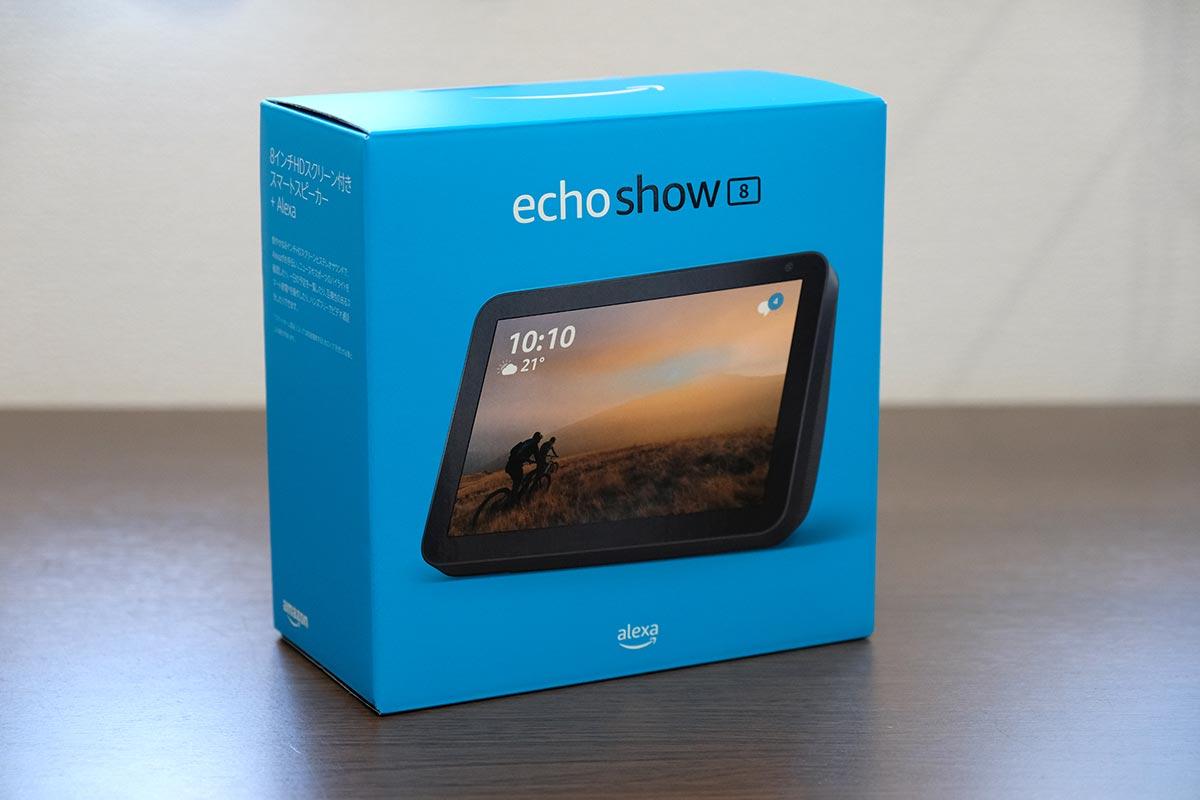 Echo Show 8 パッケージ